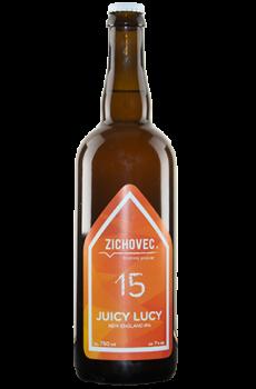 Lahev řemeslného piva Juicy Lucy od pivovaru Zichovec